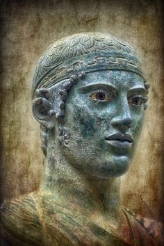 Eniochos - Charioteer of Delphi, Delphi Archaeological Museum