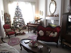 Karen's Cottage and Castle: Decorating for Christmas, Birthday Celebrations and Tea Time