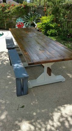 Quick And Easy Bench X Top X Post X Support Braces - 12 ft picnic table