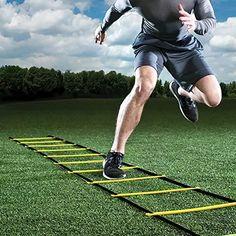 Durable Agility Ladder for Soccer Speed Training PP Material Football Training Ladder Gym Fitness Equipment Agility Training, Speed Training, Training Equipment, No Equipment Workout, Fitness Equipment, Gym Fitness, Training Tips, Athletic Training, Soccer Training