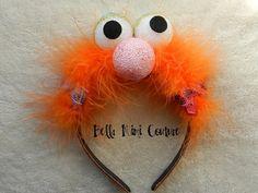 Sesame Street Zoe Headband by BellaMimiCouture on Etsy