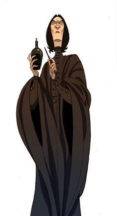 Pr. Severus Snape by ~kyla79 on deviantART
