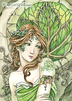 Ivy ACEO by *MeredithDillman on deviantART