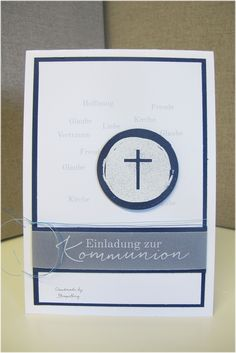 Hallo Ihr Lieben, hier auf dieser Seite findet Ihr alle möglichen Karten zum Thema Einladungen zur Kommunion/Konfirmation Glückwünschk...