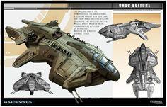 Vulture Class Gunship - HALO