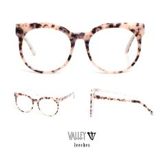 Valley eyewear optical featuring the ' LEECHES ' frame