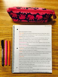 Once again: gr8 way to take notes; put in some color coding and life will be gr8