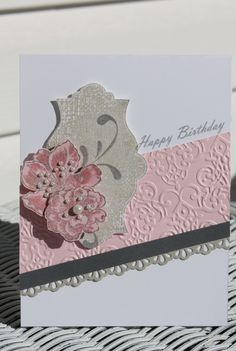 Card for my sister Tags:  Stampin Up, Everything Eleanor