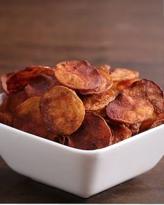 BBQ Chips | Baked Potato Chips 4-Ways