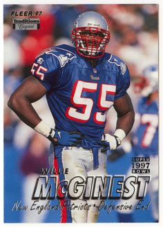 wholesale dealer 3352b 3aeeb 34 Best Willie McGinest images in 2016 | Patriots, New ...