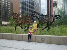 Amazing sculptures in Calgary Living In Colorado, Public Art, Calgary, Trust, Sculptures, Canada, Adventure, Glass, Amazing