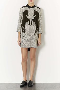 Horse Placement Shirt Dress - New In This Week - New In - Topshop