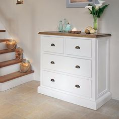 Savannah Small Reclaimed Wood Chest of Drawers - Modish Living