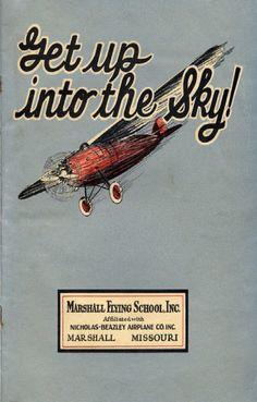 Vintage flying school manual