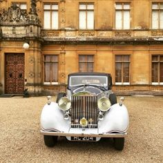 Lord Carnarvon's Grandfathers Rolls-Royce at Highclere Castle