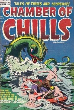 Comic Book Cover For Chamber of Chills Magazine #26