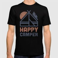 Check out society6curated.com for more! @society6 #fashion #style #tshirt #shirt #clothing #accessory #accessories #gift #idea #buy #shop #shopping #sale #fun #art #awesome #drawing #illustration #design #happycamper #camp #camper #saying #quote