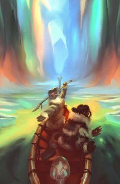 Avatar: The Last Airbender - Sokka and Katara by Genel Jumalon