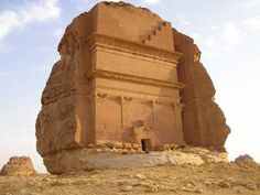 Freestanding boulder tomb.