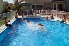 classic Kayak pool