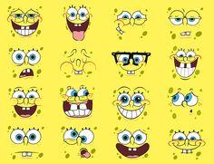 spongebob   Ecco Spongebob ... square pants (ovvero pantaloni quadrati) !...