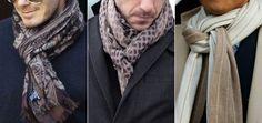 Come indossare una sciarpa da uomo