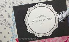 """Carte postale islamique moderne """"Je t'aime en Allah"""" à offrir à vos proches"""