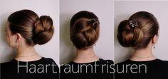Haarfotos - Haartraum - Frisuren und Anleitungen geflochten, hochgesteckt und mehr