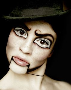 Dummy by Sara_Morrison, via Flickr LOVE! im gonna be this for halloween next year:) good eyes and brows