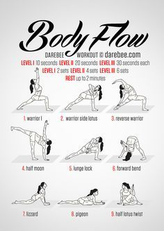 Body Flow Workout http://amzn.to/2s1FWTh