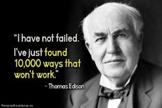 Discover and share Famous Quotes By Thomas Edison. Explore our collection of motivational and famous quotes by authors you know and love. Mary Shelley, John Green, Fact Quotes, Me Quotes, Brainy Quotes, Thomas Edison Quotes, Alva Edison, Business Cartoons, Entrepreneur Quotes