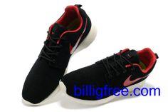 Nike Roshe Run Rote Sohle