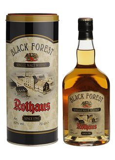 Rothaus by Black Forest - German Single Malt Whisky