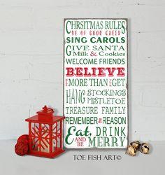 SALE! Christmas Rule