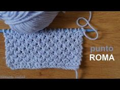 Cómo tejer gorro de bebé a dos agujas paso a paso - YouTube