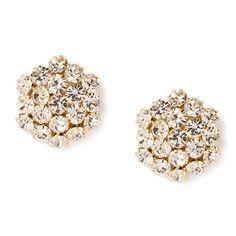 Crystal Flowerburst Stud Earrings | Icing