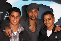 Oscar winning actor, Cuba Gooding Jr with his sons