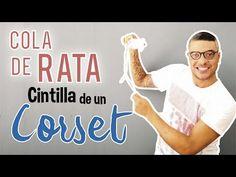 Cintilla para corset. - YouTube Hector Navarro, Videos, Youtube, Corsets, Sewing, Tips, T Shirt, Women, Fashion