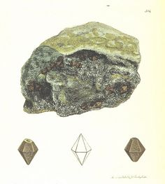 Image taken from page 410 of 'British Mineralogy: or coloured figures intended to elucidate the mineralogy of Great Britain. By J. Sowerby (with assistance). F.P'   by The British Library