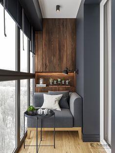 Interior Balcony, Small Apartment Interior, Apartment Balcony Decorating, Balcony Furniture, Apartment Design, Small Balcony Design, Small Balcony Decor, Home Room Design, Home Interior Design