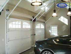 Heritage Classic Model E308C Wood Garage Door Interior Powder Coated Hardware