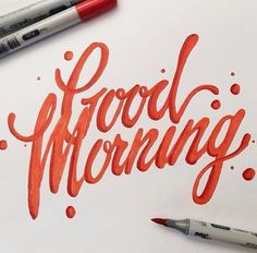 Copic Hand lettering ideas