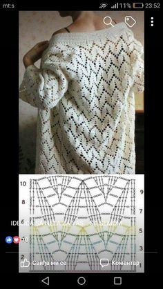 Gilet Crochet, Crochet Shrug Pattern, Granny Square Crochet Pattern, Crochet Diagram, Crochet Cardigan, Crochet Shawl, Crochet Stitches, Knit Crochet, Crochet Patterns