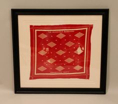 Red and White Printed Cotton Square Bandana - Aug 2013 Vintage Bandana, Red Dots, Printed Cotton, Printing On Fabric, Red And White, Auction, Gallery, Prints, Design
