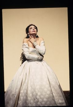 "Carol Vaness as the Duchess Elena in ""I Vespri Siciliani"" by Verdi, SF Opera, 1993"