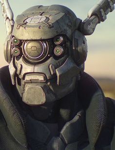 """Briareos - Appleseed Alpha "" More of a cyborg than a robot, but I do love this character (where are these images from? Male Character, Character Concept, Concept Art, Character Design, Zbrush, Mascaras Halloween, Masamune Shirow, Wallpaper Animes, Cyberpunk Clothes"
