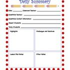 FREE! This form lets teachers know how a substitute's day went. Teachers, leave this form for your substitute teacher to fill out at the end of their day...
