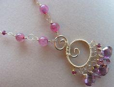 Rose Amor Necklace by BellaBerlinJewels