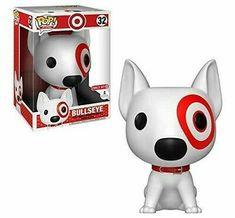 Funko pop ad icon 10 inch bullseye dog 32 target exclusive new Funko Pop Jack Skellington, Biscuit, Funko Pop Anime, Funko Pop Dolls, Funko Toys, Custom Funko Pop, Pop Figurine, Pop Ads, Pop Collection