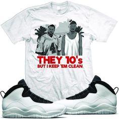 Jordan 10 Im Back Sneaker Tees Shirt - THEY 10s